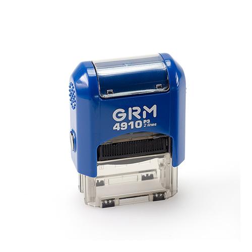 Штамп GRM 4910 P3 автоматический размером 26х10 мм