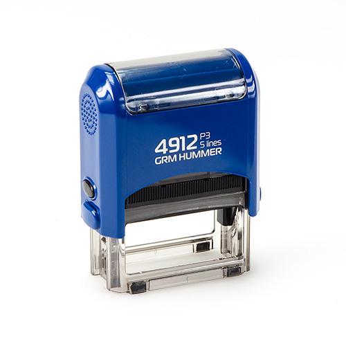Штамп GRM 4912 P3 автоматический размером 47х18 мм