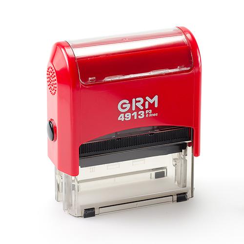 Штамп GRM 4913 P3 автоматический размером 59х21 мм