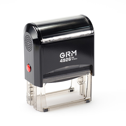 Штамп GRM 4926 P3 автоматический размером 75х38 мм