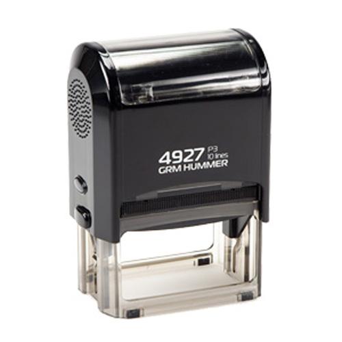 Штамп GRM 4927 P3 автоматический размером 60х40 мм