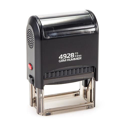 Штамп GRM 4928 P3 автоматический размером 60х33 мм