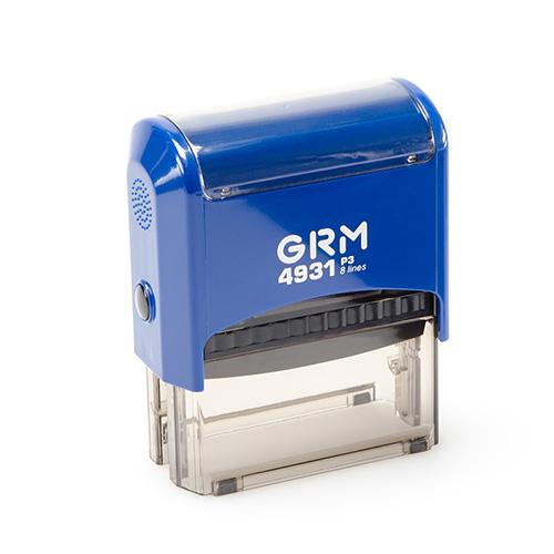 Штамп GRM 4931 P3 автоматический размером 70х30 мм