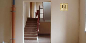 Таблички этажные с номером этажа для навигации